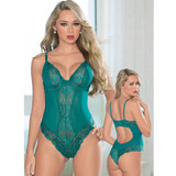 Teddy in Teal - Front / Back