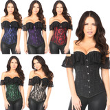 Corsets - in 6 Colors - Sizes Small through 6X