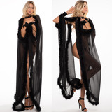 Long Cape - Beautiful and Sensual