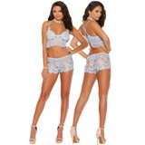 Eyelash Lace Cami Top & Shorts