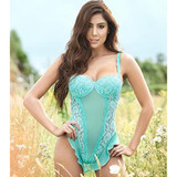 Aqua Lace Teddy