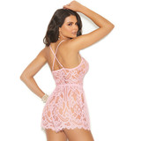 Romper with Criss Cross Detail in Back