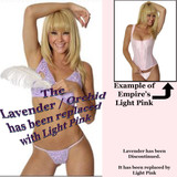 389 Lavender has been replaced by Light Pink