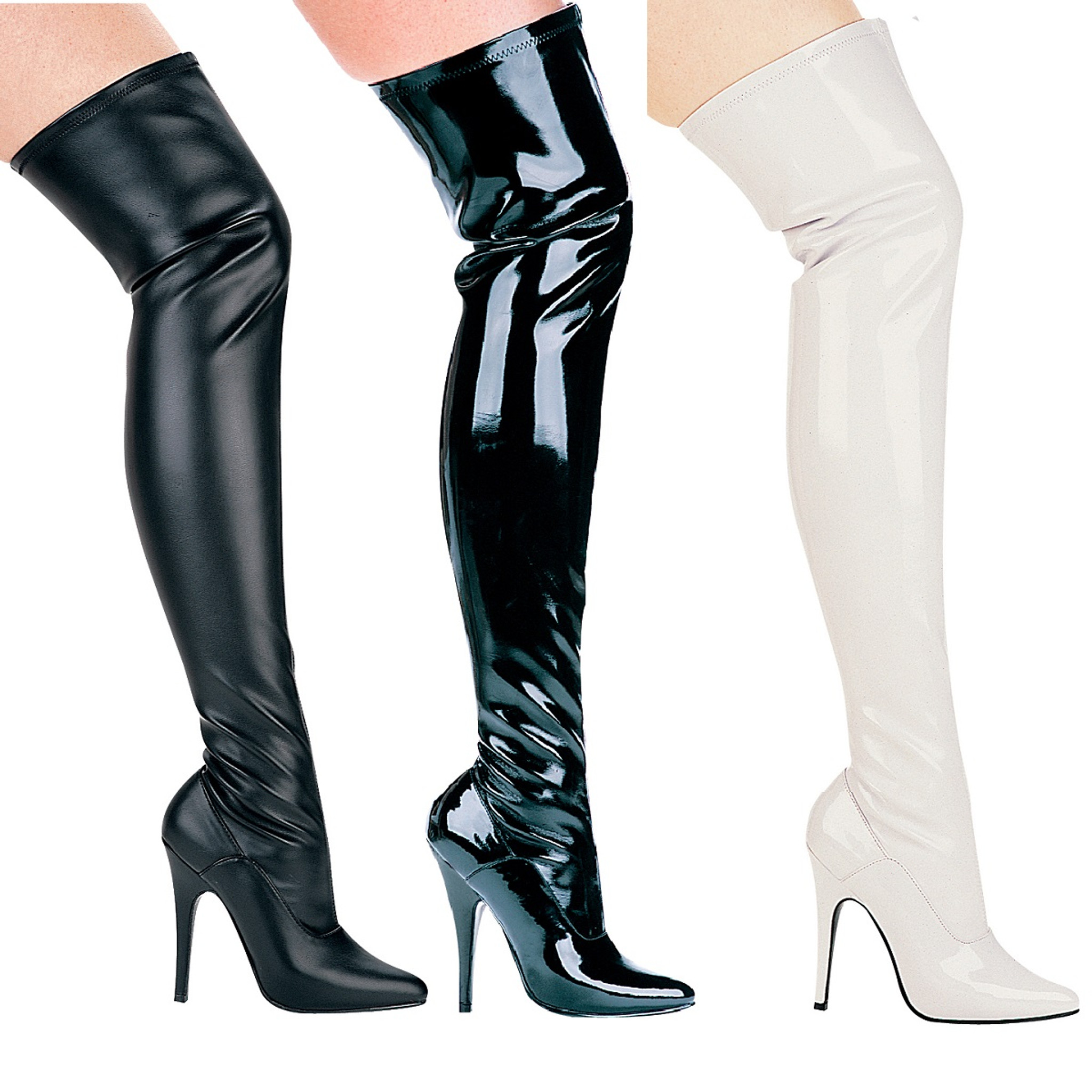 running shoes the latest new lifestyle Thigh High Stiletto Boots - Perennial Passions DBA Starlite Apparel