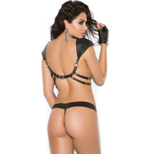 Leather harness & G-String are Available in O/S and XL - image is from the Back