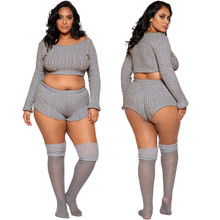 Pajama Set is available in Plus Sizes