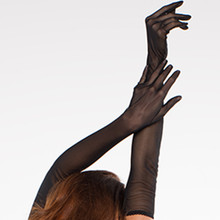 Sheer and Sexy Hollywood Like Gloves