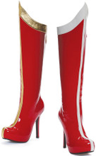 "5.5"" Stilletto Knee High Boot - Wonder Woman!  Ms. Claus!"