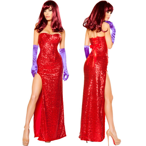 2 Pc Rabbits Lover Costume - Sz S - XL - Genuine Roma Product