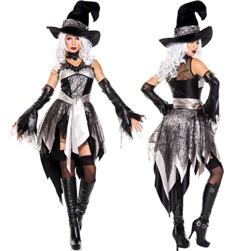 Glamourous Witch Costume - Front and Back