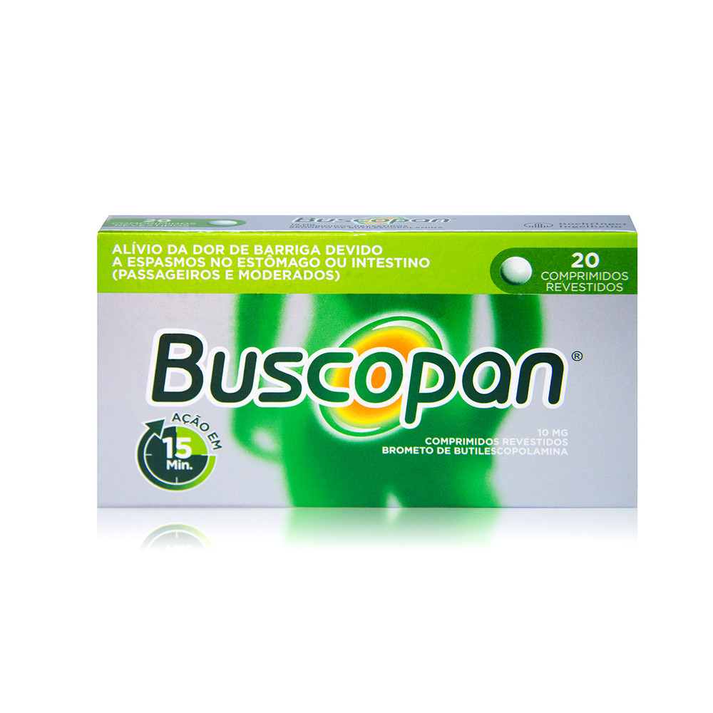 Buscopan 10 mg 20 Comprimidos