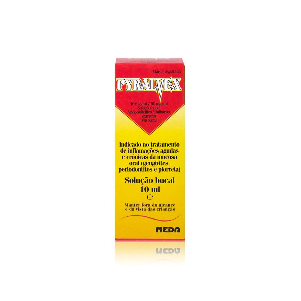 Pyralvex Solução Bucal 10 ml
