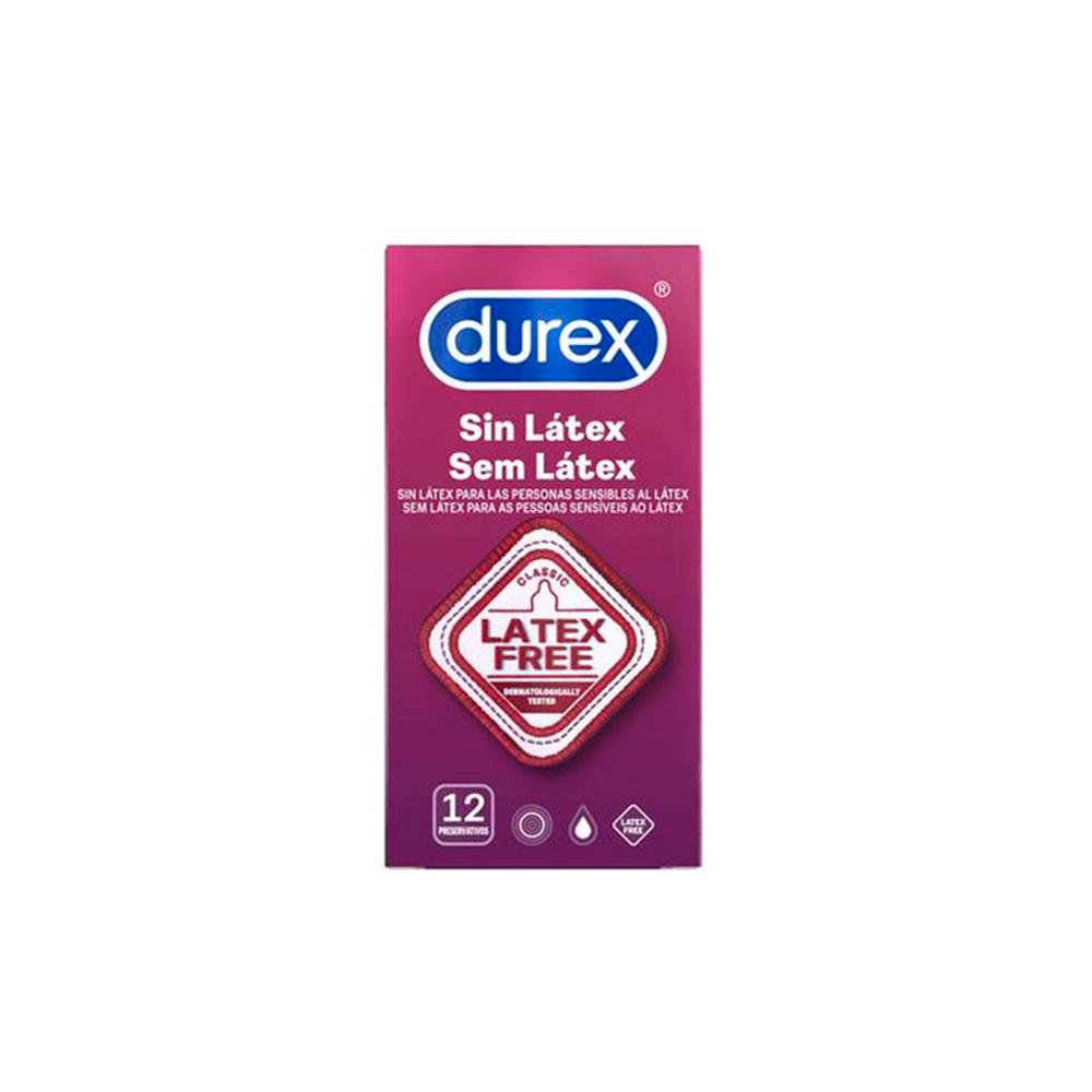 Durex Sem Látex Preservativos 12 un