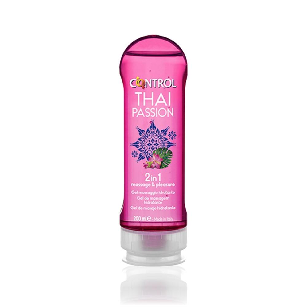 Control 2 em 1 Thai Passion Gel de Massagem 200 ml