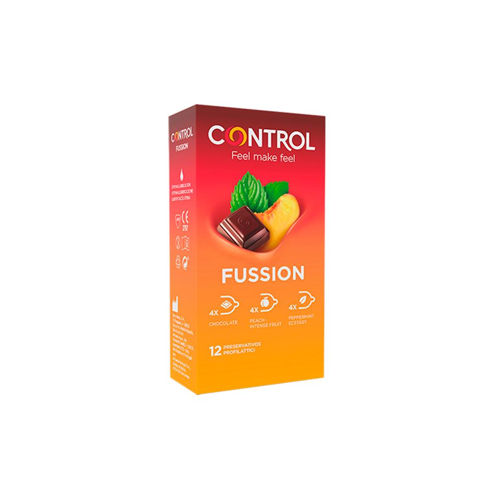 Control Essence Fussion Preservativos 12 un