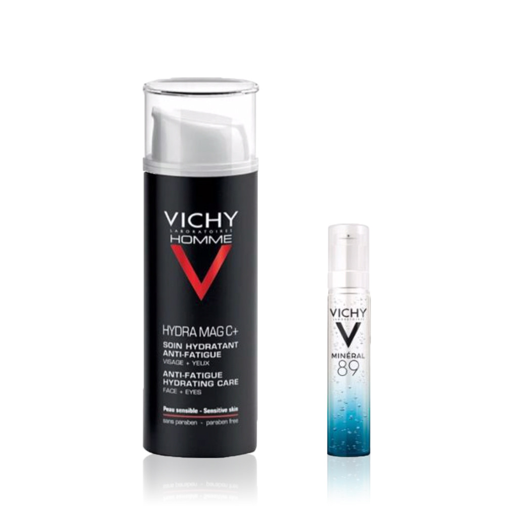 Vichy Homme Hydra Mag C+ Coffret Creme & Sérum