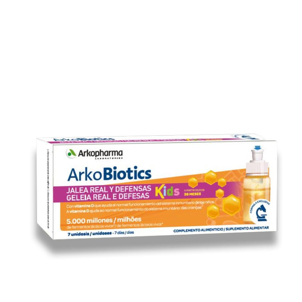 Arkopharma Arkobiotics Geleia Real e Defesas Kids 7 Unidoses