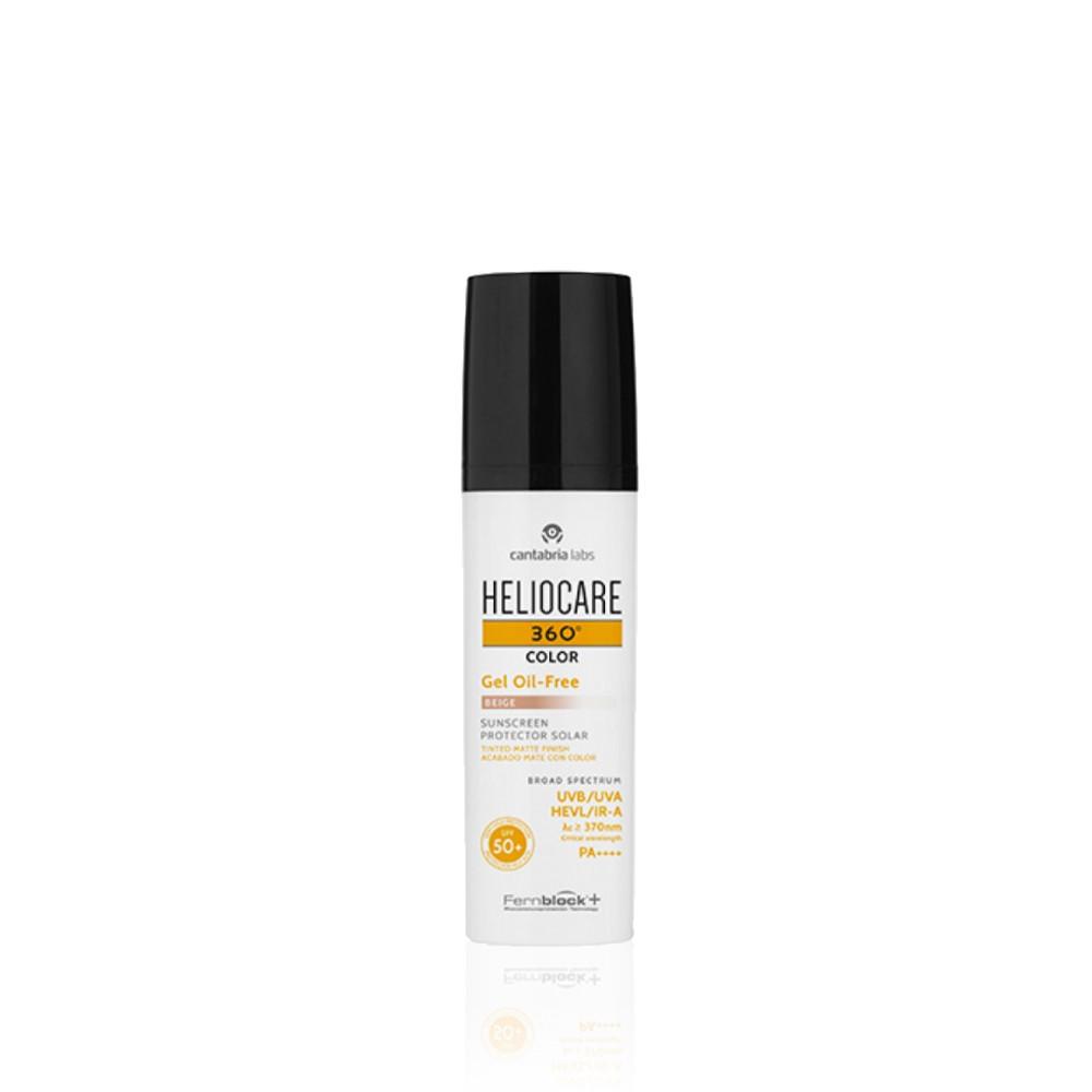 Heliocare 360º Color Gel Oil-Free SPF50+ Gel Solar c/Cor 50ml