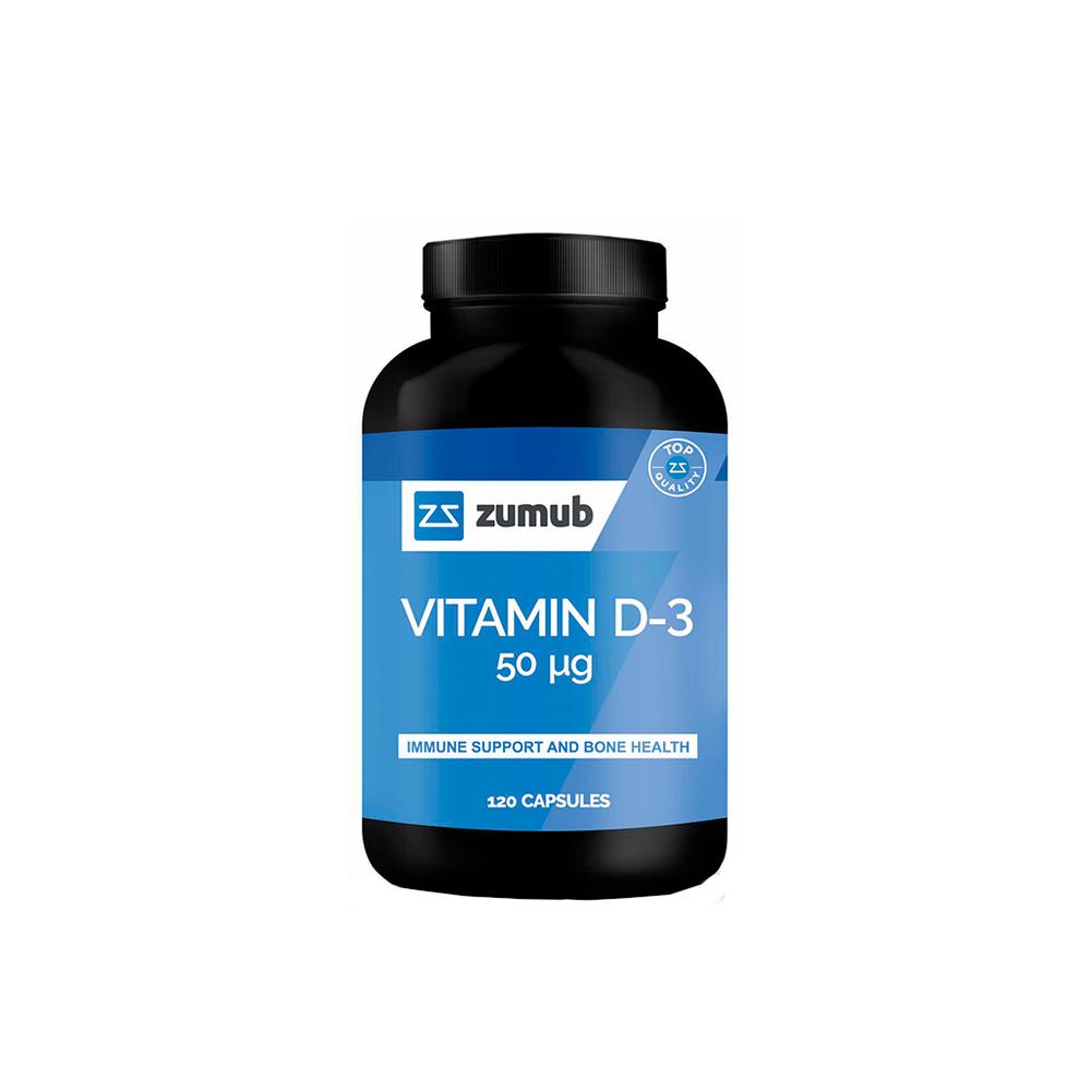 Zumub Vitamina D-3 120 Comp