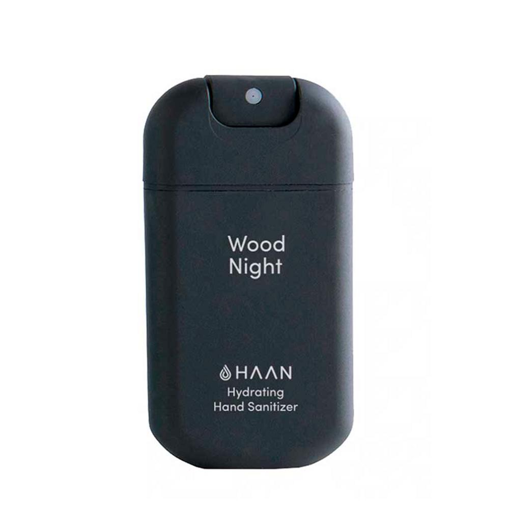 Haan Loção Higienizante de Mãos Recarregável Wood Night 30 ml