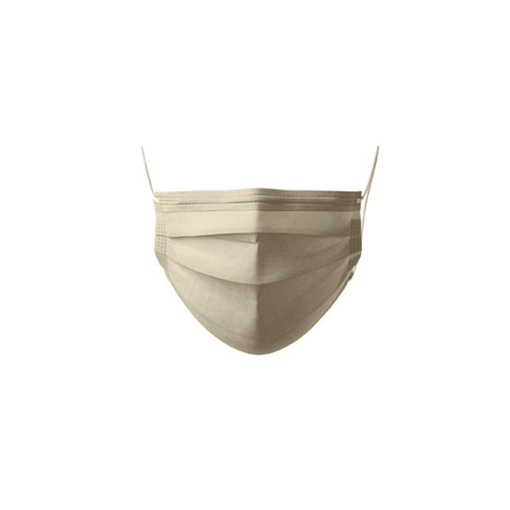 Máscaras Cirúrgicas c/Elástico Dourado
