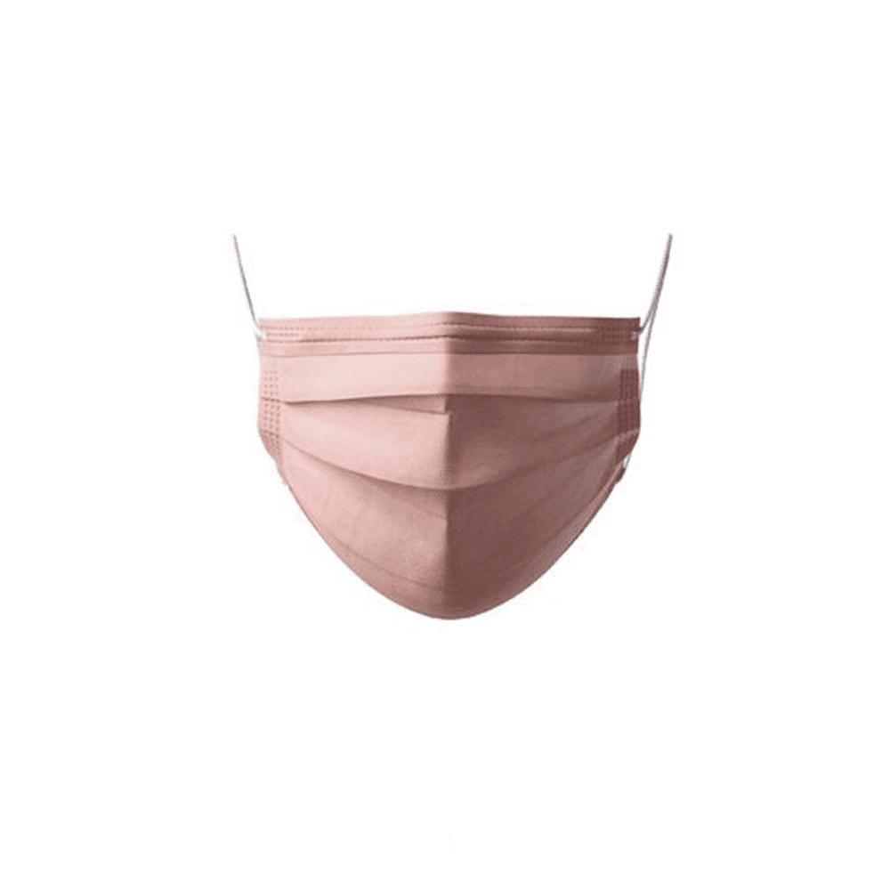 Máscaras Cirúrgicas c/Elástico Rosa