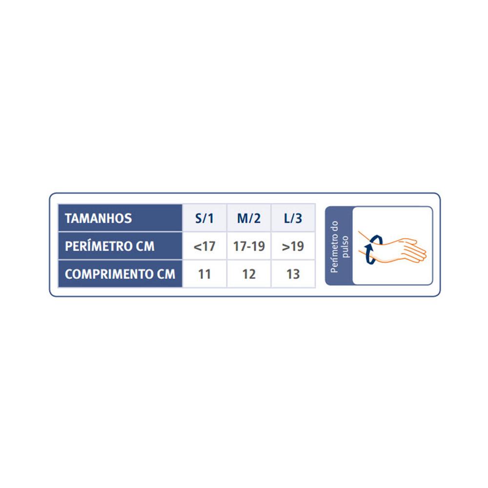 Tala Imobilizadora de Polegar em Termoplástico | Tabela