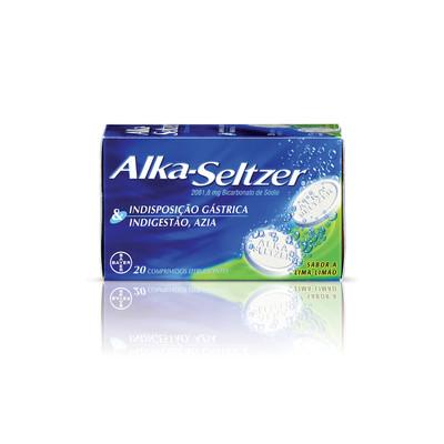 Alka-Seltzer Efervescente 20 comp