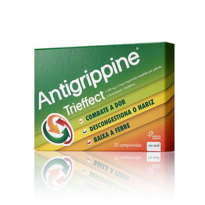 Antigrippine Trieffect 20 comp