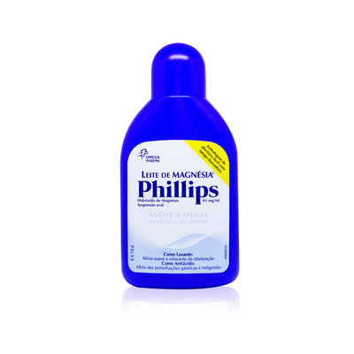 Leite de Magnésia Phillips 200 ml