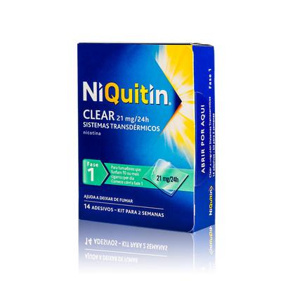 NiQuitin Clear Sistemas Transdérmicos - Fase 1