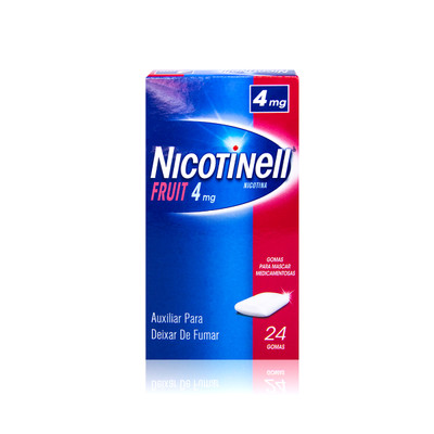 Nicotinell Fruit 4 mg 24 Gomas