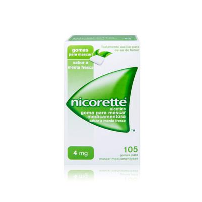 Nicorette 4 mg Menta fresca 105 Gomas