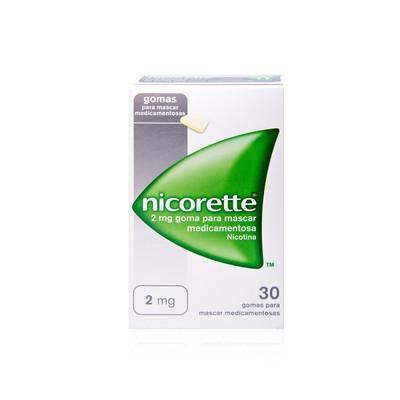 Nicorette 2 mg 30 Gomas Clássicas