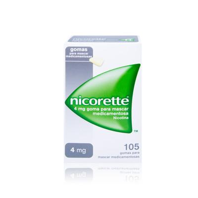 Nicorette 4 mg 105 Gomas Clássicas