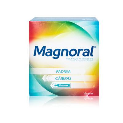 Magnoral 20 Ampolas