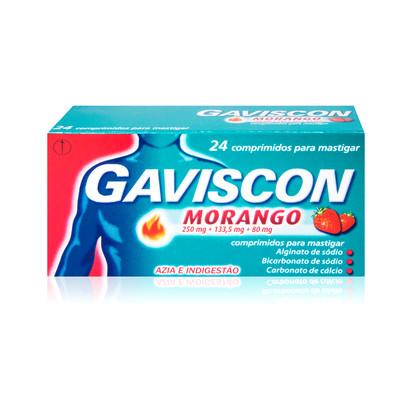 Gaviscon Morango 24 comp