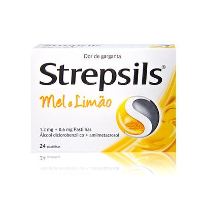 Strepsils Mel e Limão 24 Pastilhas