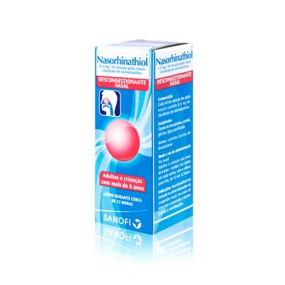 Nasorhinathiol 0,05 % Gotas Nasais 15 ml