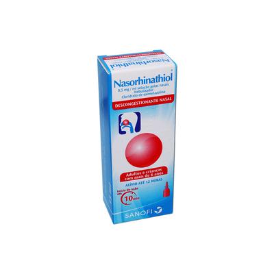 Nasorhinathiol 0,05 % Gotas Nasais Nebulizador 15 ml