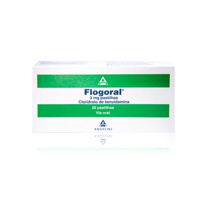 Flogoral 20 Pastilhas
