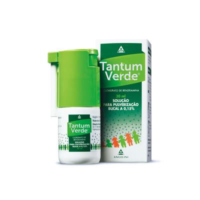 Tantum Verde 1,5 mg/ml Solução Pulverização 30 ml