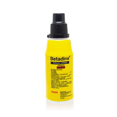 Betadine Solução Cutânea 125 ml