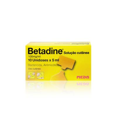 Betadine Solução Cutânea 10 x 5 ml