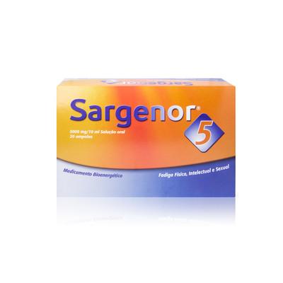 Sargenor 5 - 20 Ampolas
