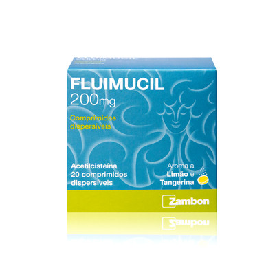 Fluimucil 200 mg 20 comp