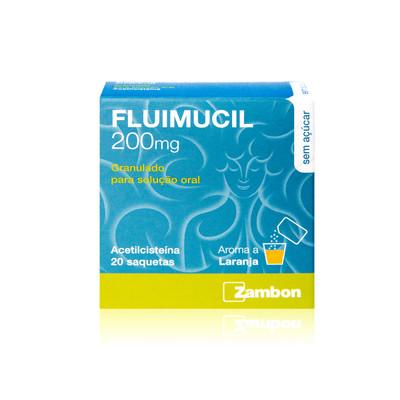 Fluimucil 200 mg Granulado 20 Saquetas
