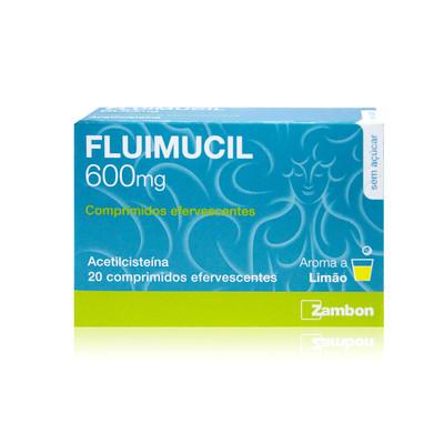 Fluimucil 600 mg 20 comp eferv