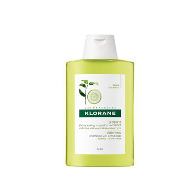 Klorane Champô com Polpa de Cidra Cabelo Tendência Oleosa | 200 ml