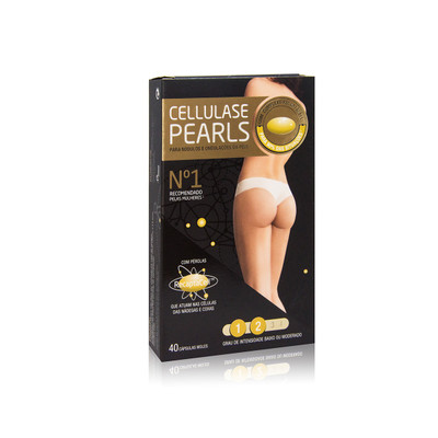 Cellulase Gold Pearls 40 cáps